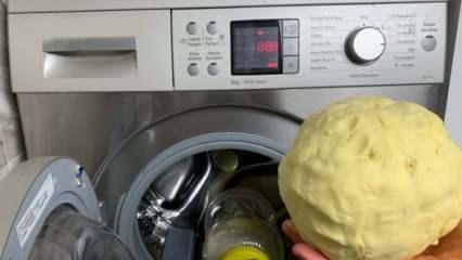 Çamaşır makinesinde tereyağı nasıl yapılır? Gerçekten çamaşır makinesinde tereyağı olur mu?