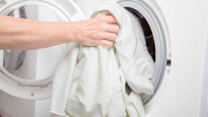 Çamaşırlar nasıl beyazlatılır? Çamaşırları kar gibi yapan ilginç yöntemler