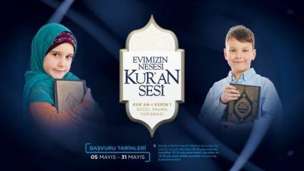 """Diyanet'ten çocuklara """"Kur'an-ı Kerim'i Güzel Okuma Yarışması"""" Yarışma şartları ve ödüller"""