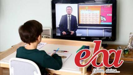 EBA TV 11-15 Mayıs haftalık ders programı: EBA öğrenci giriş ekranı