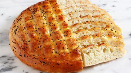 En kolay pastane pidesi nasıl yapılır? Pastane usulü Ramazan pidesi tarifi