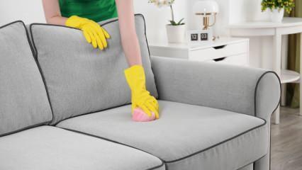 Koltuk nasıl silinir? En kolay koltuk temizleme yöntemi nedir? Koltuk temizleyen 3 yöntem