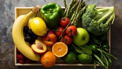 Mevsiminde beslenmenin bağışıklık sistemine faydaları ve Mayıs ayı sebze meyveleri...