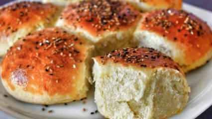 Tarifi çok kolay evde çiçek ekmek yapımı! Yumuşacık çiçek ekmek nasıl yapılır?