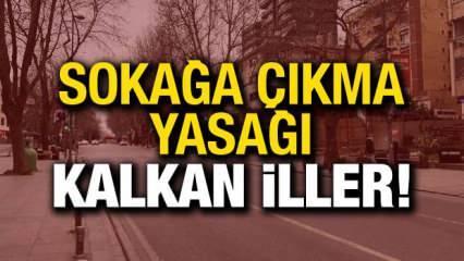 4 günlük sokağa çıkma yasağı hangi illeri yok! 16-19 Mayıs sokağa çıkma yasağı olan iller