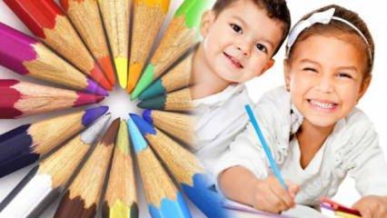 Bebekler renkleri ne zaman ayırt edebilir? Renkler nasıl öğretilir? Okulöncesi renk etkinliği