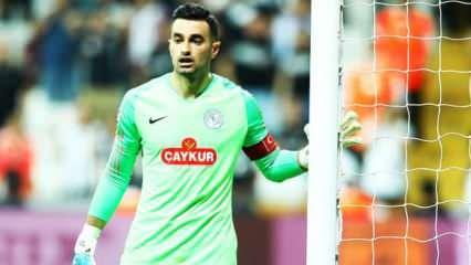 Beşiktaş milli kaleci için söz kesti!