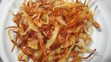 En kolay karamelize soğanın püf noktaları! Karamelize soğan nasıl yapılır?