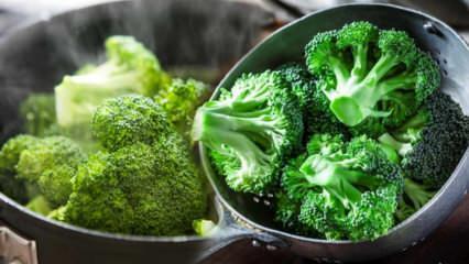 Haşlanmış brokoli suyu zayıflatır mı? Prof. Dr. İbrahim Saraçoğlu brokoli kürü tarifi
