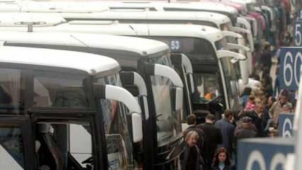 Otobüs bilet fiyatları belli oldu. 2020 en düşük ve en yüksek otobüs bileti...