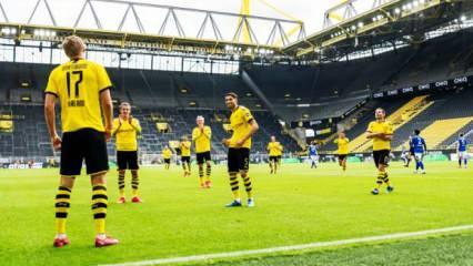 Ses yok gol çok! Dortmund gol şovla döndü