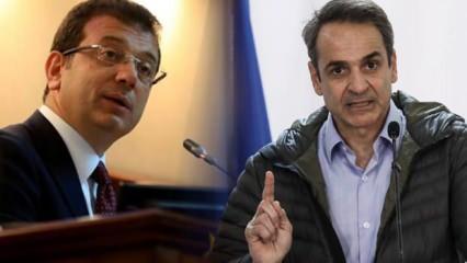Miçotakis'in sözleri sonrası İmamoğlu'na çağrı: Artık bir şeyler söyle