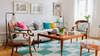 En pratik yazlık ev dekorasyonu fikirleri 2020