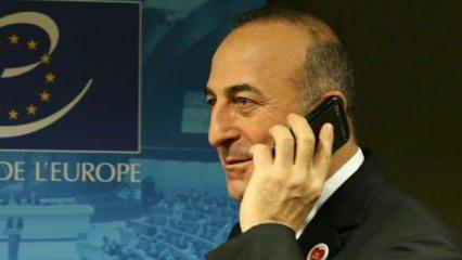 Bakan Çavuşoğlu'ndan Libya telefonu