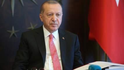 Başkan Erdoğan'dan dünyaya mesaj: Kimseye peşkeş çekilmesine göz yummayacağız