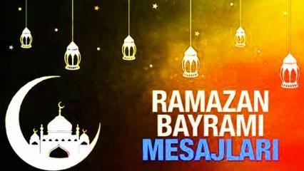 Bayram Mesajları: İstediğiniz sözleri bir arada topladık! Talep alan Ramazan Bayramı Mesajları