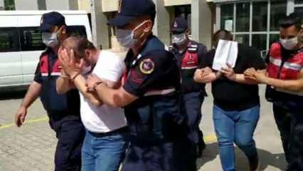 Cezaevinden çıkar çıkmaz gözaltına alındılar