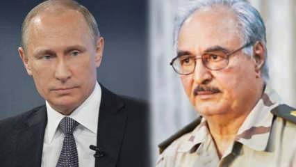 Rusya savaş uçağı gönderdi, Hafter Türkiye'yi tehdit etti! Cumhurbaşkanlığından misilleme resti