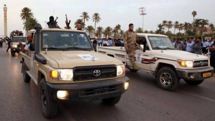 Libya ordusu Hafter'in elindeki kritik yeri almayı başardı