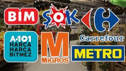 BiM A101 ŞOK MİGROS CARREFOUR 25-26 Mayıs'ta açık mı? Marketler bayramda kapalı mı olacak?
