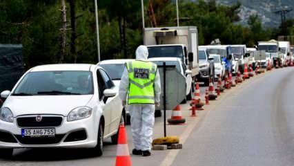 Son dakika haberi: İçişleri Bakanlığından 81 ile seyahat kısıtlaması genelgesi