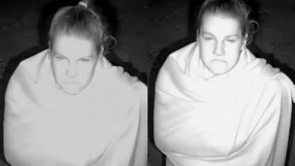 Survivor'un Nisa'sının gece kamer karşısındaki hareketleri sosyal medyada olay oldu