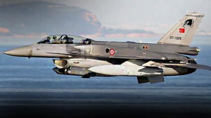 Geri adım attıran rest: Türk F-16'ları Akdeniz'i geçip karargahı başına yıkar