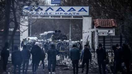 Yunanistan sığınmacıları zorla Türkiye'ye yolluyor