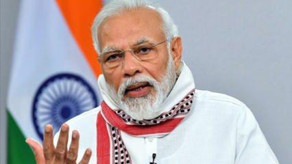 Son 24 saatte 8 bin yeni vaka görülen Hindistan'da Başbakan Modi: Zafer yolundayız