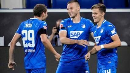 Hoffenheim 7 maç sonra galibiyetle tanıştı