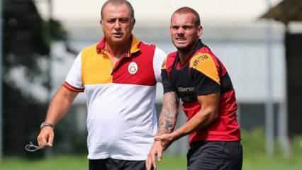 Fatih Terim'den Wesley Sneijder açıklaması