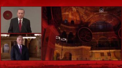 İstanbul'un Fethi'nin yıl dönümünde Ayasofya'da tarihi dua