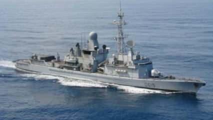 Libya karasularında Fransa savaş gemisinden BAE tankerine şok