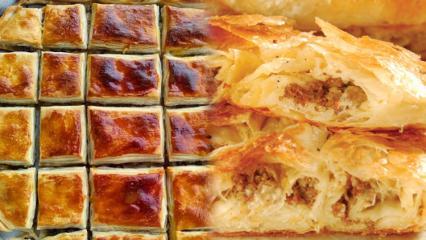 Osmanlı böreği nasıl yapılır? Osman böreğinin içini hazırlamanın yolları
