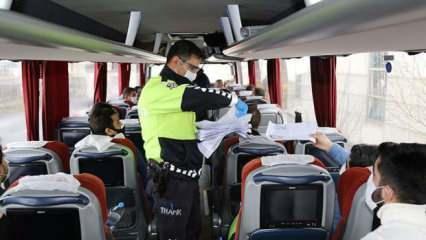 Otobüs ve uçak seferlerinin başlayacağı tarih belli oldu!