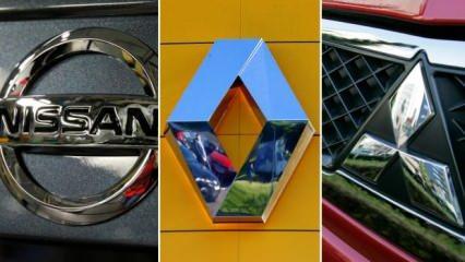 Renault, Nissan ve Mitsubishi ortaklığında yeni model