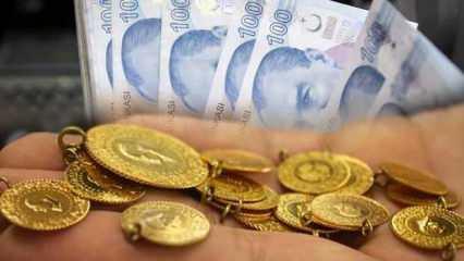 4 Haziran Altın fiyatları hızla düşüyor! Çeyrek Altın Gram Altın Bilezik alış satış fiyatları
