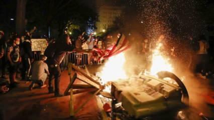 ABD karıştı! Trump Antifa'yı hedef gösterip terörist ilan etti