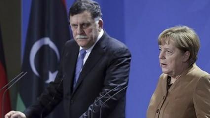 Almanya Başbakanı Merkel, Libya Başbakanı Serrac ile görüştü