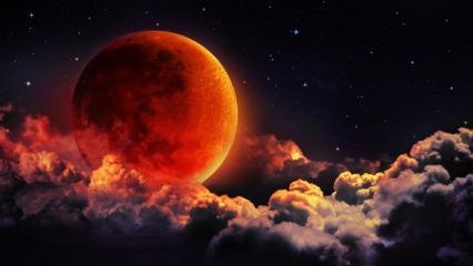 Kuranda Ay tutulması etkileri! Küsuf ve Husuf namazı nasıl kılınır? Ay tutulmasında okunan dua