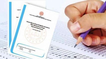 LGS çıkmış sorular: MEB Liselere Geçiş Sınavı soru ve cevap kitapçığı
