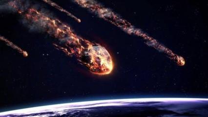 NASA tarih verip uyardı: Tehlikeli bir göktaşı Dünya'ya yaklaşıyor