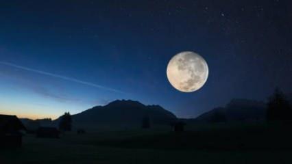 Rüyada ay görmek nasıl tabir edilir? Rüyada ay ve güneşi aynı anda görmek hayırlı mıdır?
