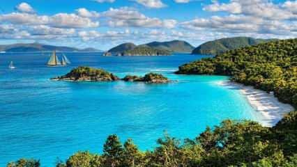 Doğa içerisinde insanlara uzak denize yakın tatil yerleri