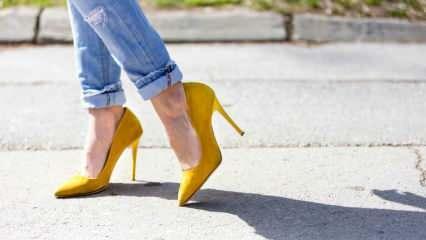 Topuklu ayakkabı giymenin incelikleri