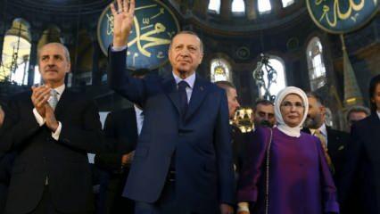 Ve Erdoğan talimatı verdi! Ayasofya için Yunan'ı çıldırtacak tarihi hamle