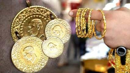 13 Haziran Altın fiyatı yükselmeye devam ediyor? Gram Altın Çeyrek Altın alış satış fiyatları