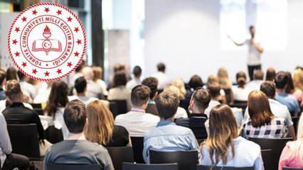 Haziran ayı öğretmen seminerleri ne zaman yapılacak? MEB öğretmen seminerleri uzaktan...