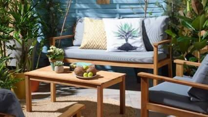 Ahşap bahçe mobilyalarının bakımı nasıl yapılır? Bahçeler için ahşap mobilya ürünleri