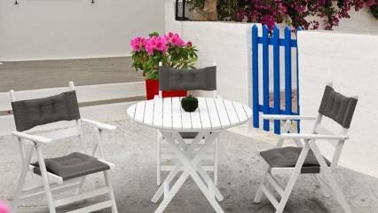 Bahçe ve teraslar için şık ve rahat sandalye modelleri